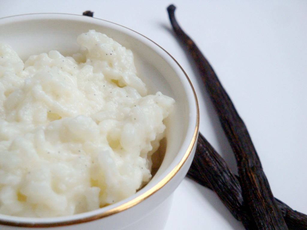 Vanilla Bean Rice Pudding | Made with a Twist